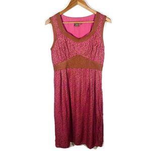 Anthropologie Isabella Bird Silk Blend Dress